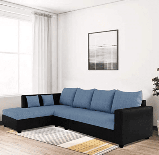 CasaStyle Lavis Six Seater L Shaped sofa set