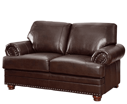 Aart Store Two Seater Leather Sofa set
