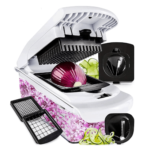 Fullstar Vegetable Chopper - Spiralizer Vegetable Slicer