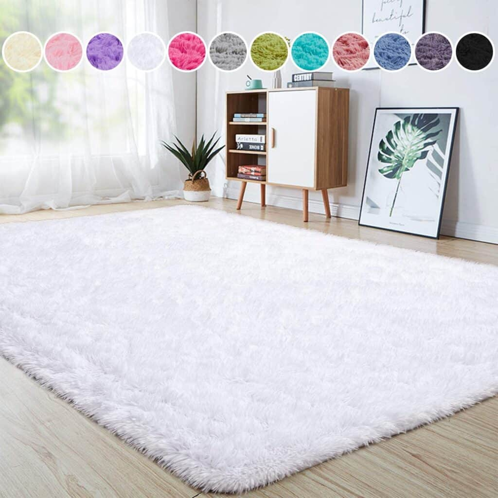Junovo Ultra Soft Area Rugs Fluffy Carpets