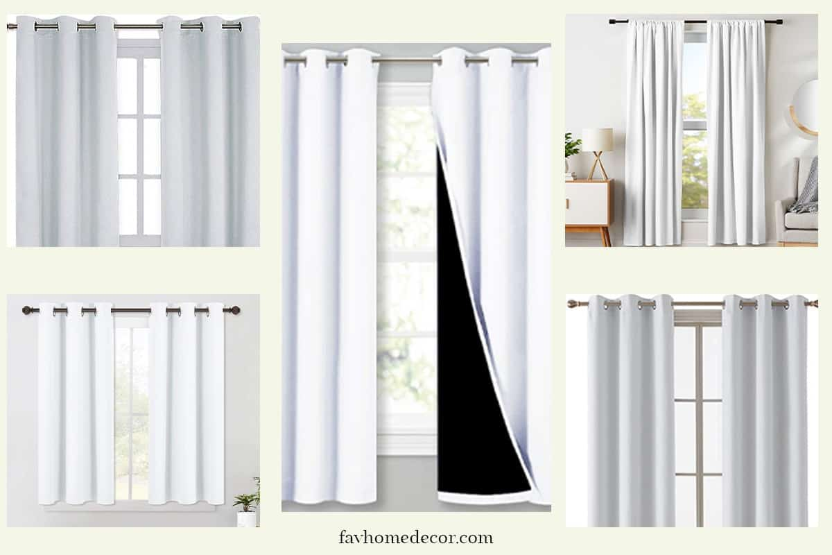 Best White Curtains For Bedroom