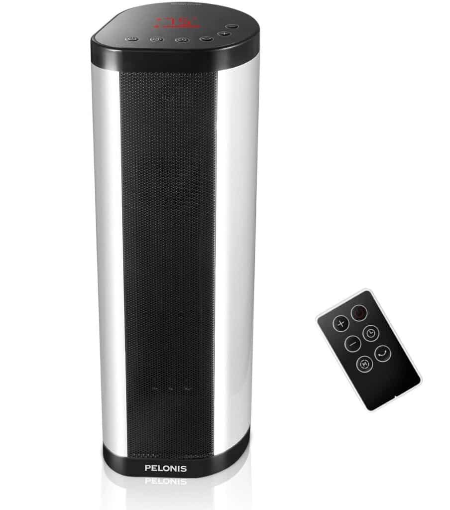 PELONIS NTH15-17BRA Ceramic Tower Space Heater-Best Space Heaters For Bedroom