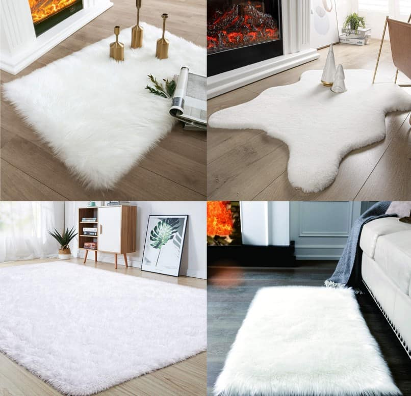 Best White Fluffy Rug For Bedroom | Aug 2020