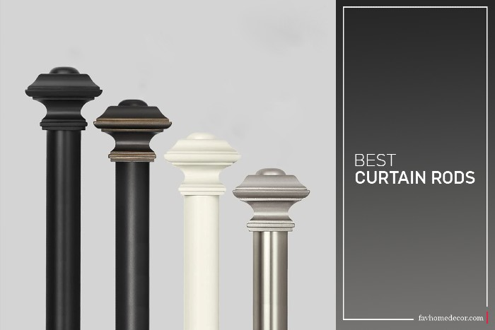 Best Curtain Rods | 6 best Curtain Rods For Living Room- fav home decor