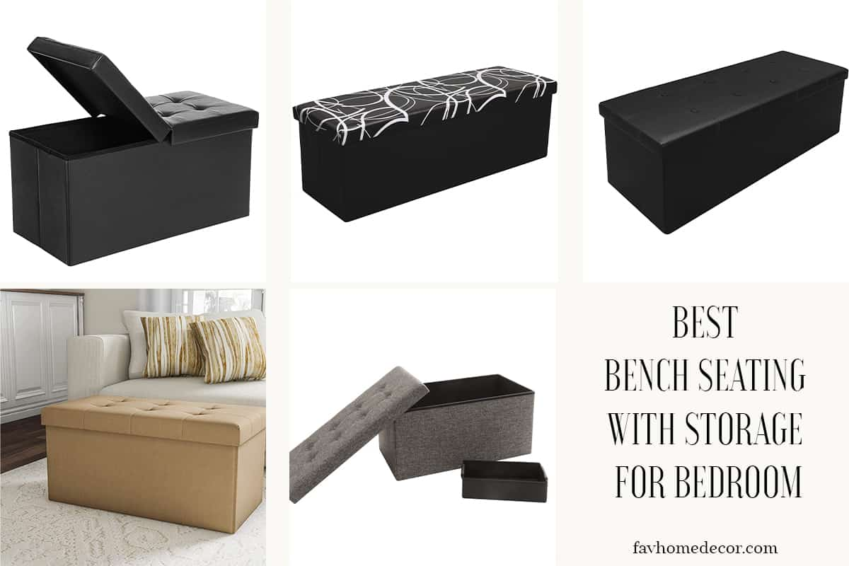 Best Bench Seating With Storage For Bedroom| USA 2020