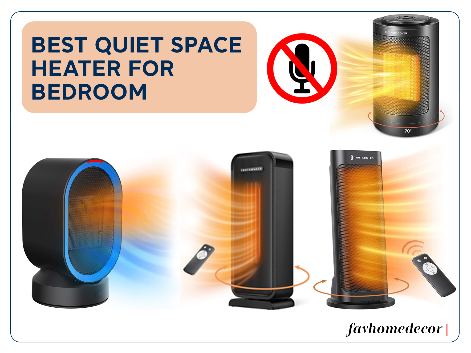 Best Quiet Space Heater For Bedroom