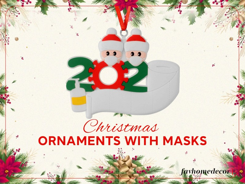 Christmas Ornaments With Masks