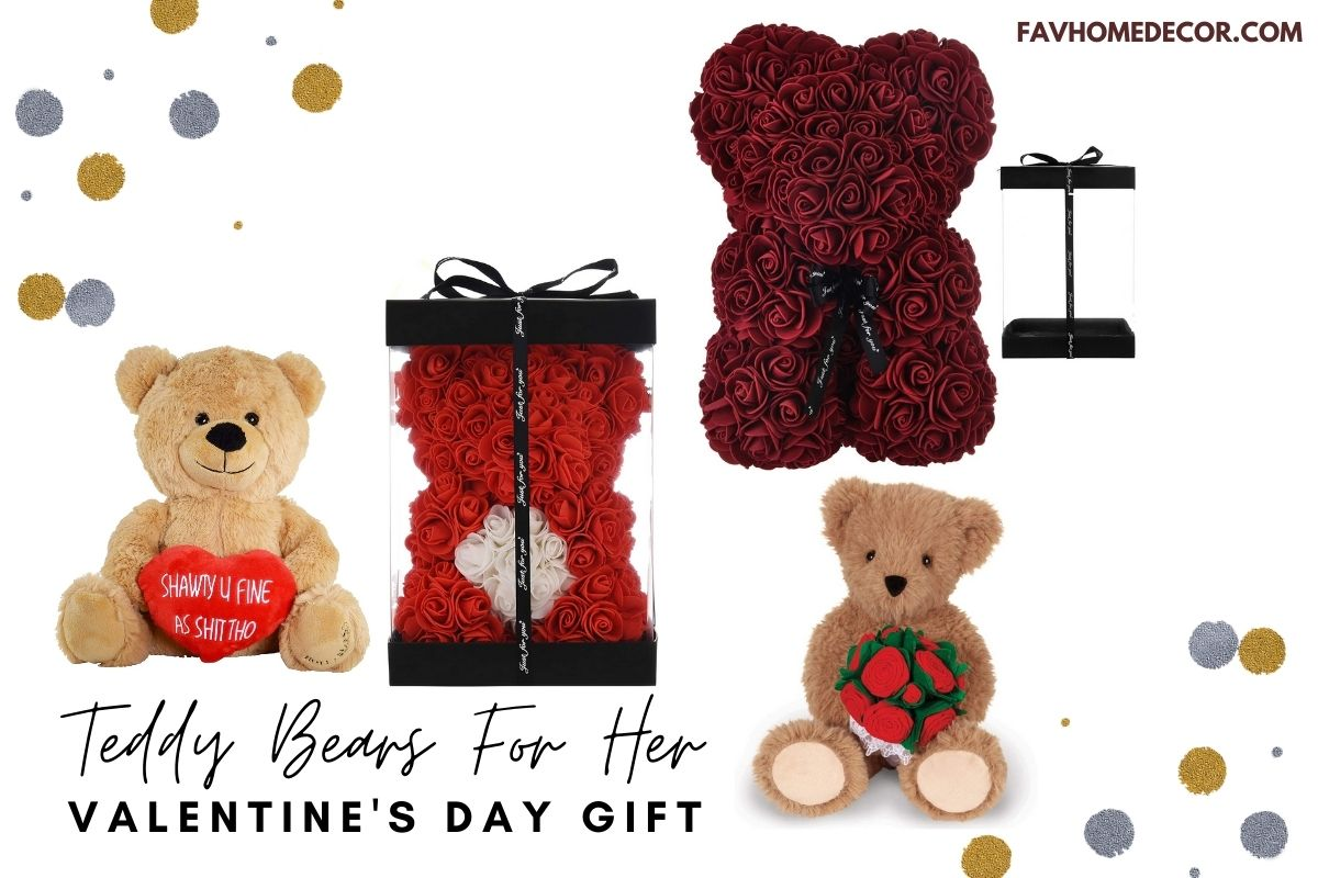 Best Small Teddy Bear For Valentine's Day