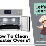 how to clean air fryer toaster oven