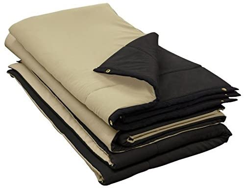 soundproof blankets or moving blankets