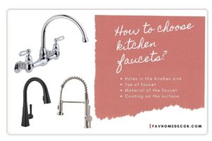 how to choose kitchen faucet in right ways