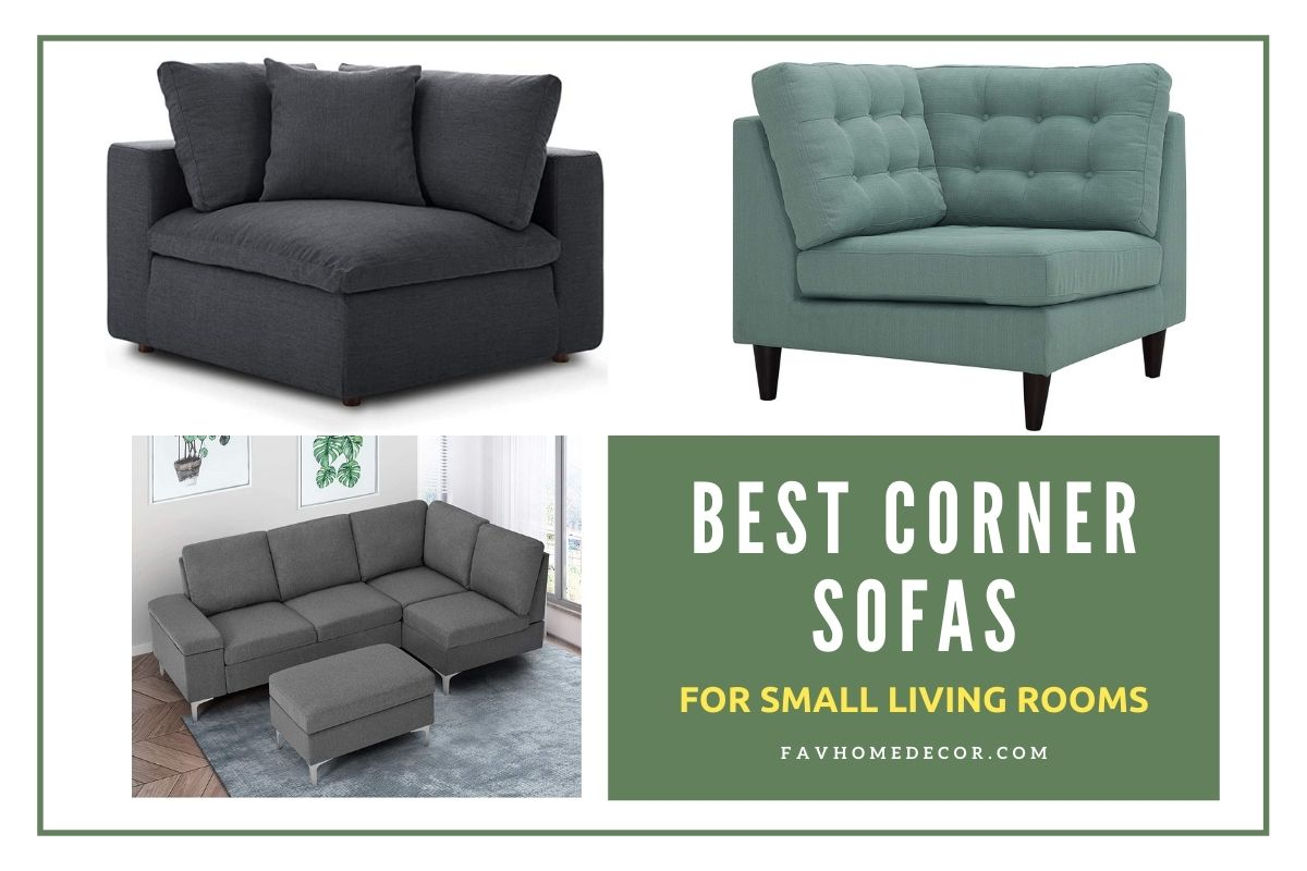 6 Best Corner Sofas For Small Spaces