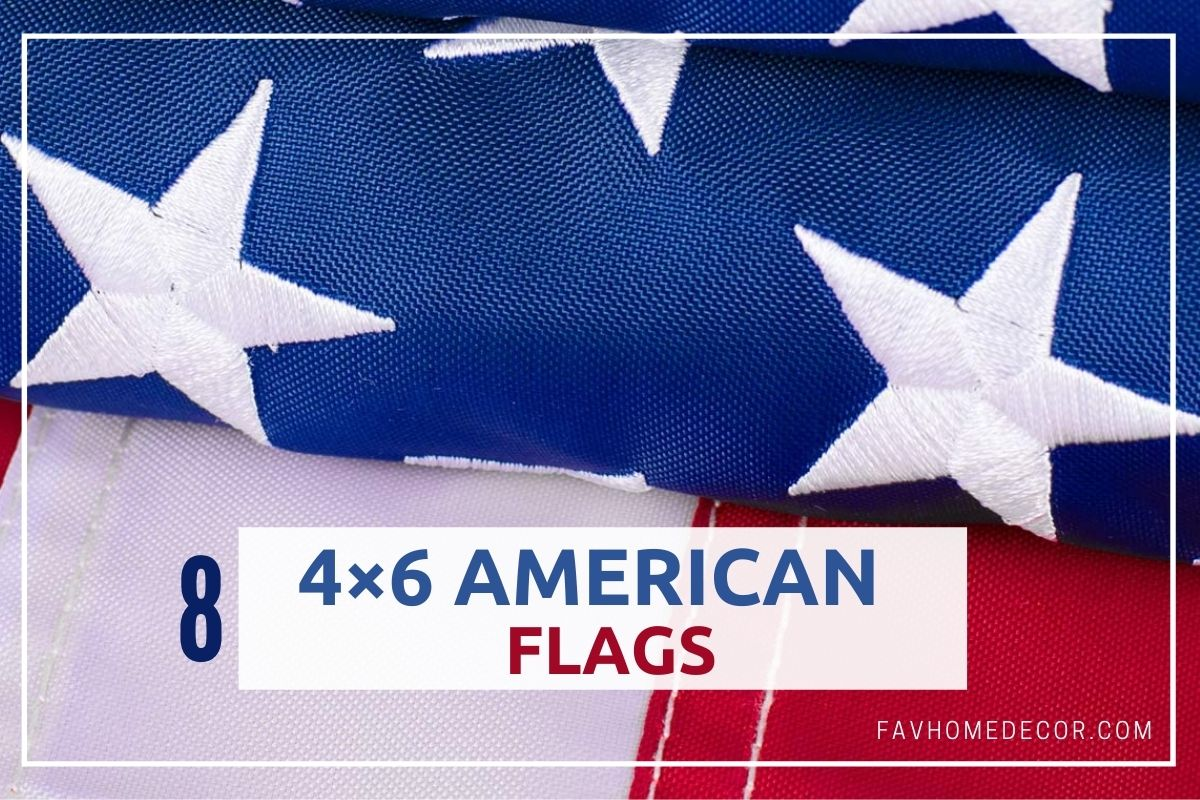 4×6 American Flags For USA