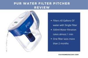 Reviews of PUR water filter pitcher